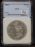 1880-O MORGAN DOLLAR - UNC