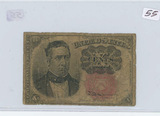 1874 - 10 CENT FRACTIONAL CURRENCY