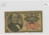 1874 - 25 CENT FRACTIONAL CURRENCY