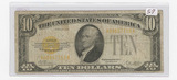 SERIES OF 1928 - $10. GOLD NOTE