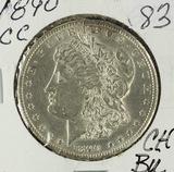 1890-CC MORGAN DOLLAR - CH BU