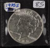 1935-S PEACE DOLLAR - UNC