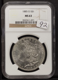 1885-O NGC MS63 MORGAN DOLLAR