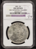 1889 - NGC UNC MORGAN DOLLAR