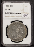 1901- NGC XF45 MORGAN DOLLAR