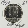 1964 - PROOF KENNEDY HALF DOLLAR