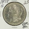 1878-S MORGAN DOLLAR - BU
