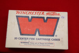 1 Box of 20, Winchester 220 Swift Unprimed