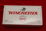 1 Box of 50, Winchester, 9 mm Luger, 115 gr FMJ