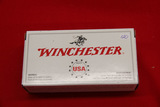 1 Box of 50, Winchester, 9 mm Luger 124 gr FMJ