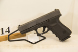 Glock, Model 19, Semi Auto Pistol, 9 mm cal,