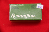 1 Box of 50, Remington 22 LR
