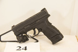 Springfield Armory, Model XD-40, Semi Auto Pistol,
