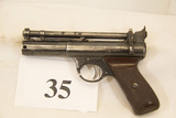 Webley & Scott, Senior Air Pistol, 177 cal, Pat