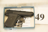 Jennings, Model J22, Semi Auto Pistol, 22 cal,