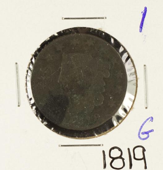 1819 - MATRON HEAD LARGE CENT - G