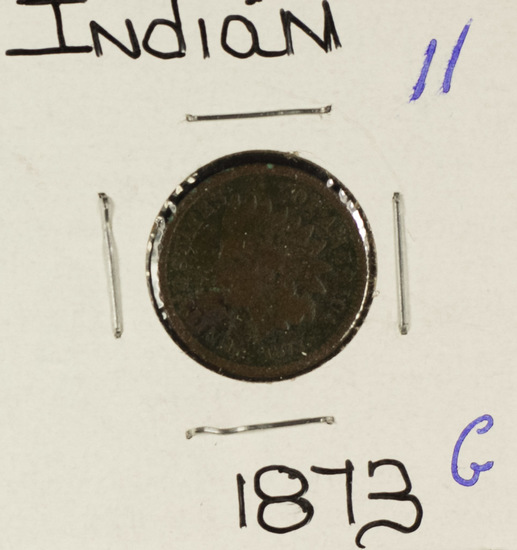 1873 - INDIAN HEAD CENT - G