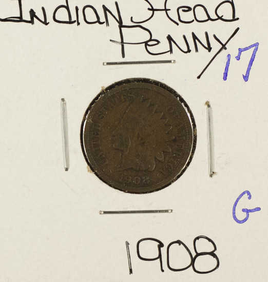 LOT OF 2 INDIAN HEAD CENTS
