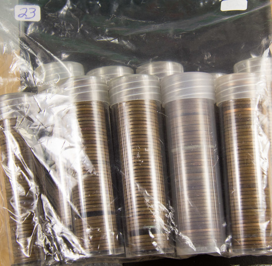 10 ROLLS LINCOLN WHEAT CENTS