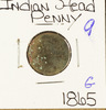 1865 INDIAN HEAD CENT - G
