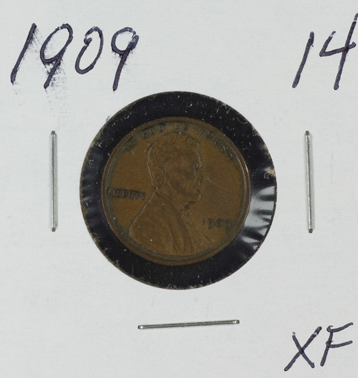 1909 LINCOLN CENT - XF