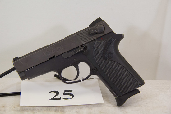 Smith & Wesson, Model 908, Semi Auto Pistol,
