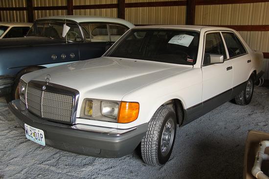 1983 Mercedes, Miles 201,636, 300SD Diesel,