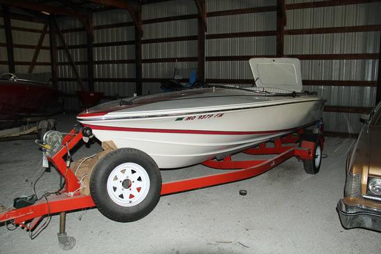 1995 Donzi Boat, Sweet 16, I/O, Mercriser 4.3 V6,