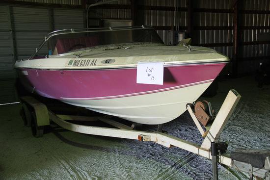 1974 IMP Boat, Model X-176, OMC 245,