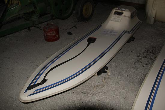 1985 Surf Jet, Gas powered motorized surf board