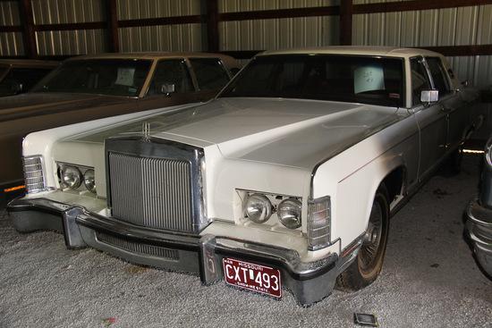 1978 Lincoln Continental, Mileage 193 original,