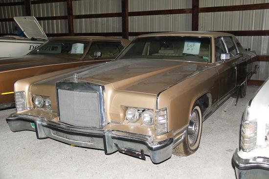 1977 Lincoln Continental, Mileage 28,564,
