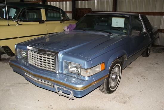 1980 Ford Thunderbird, Mileage 53,720,