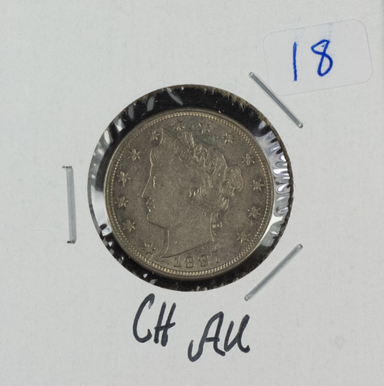 1887 - LIBERTY NICKEL - CH AU