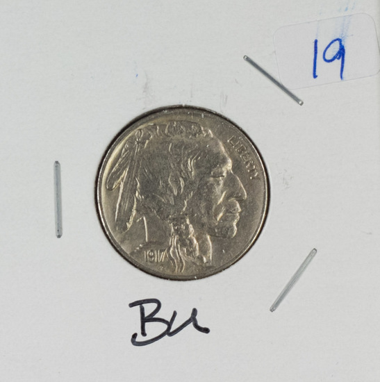 1917 - INDIAN HEAD NICKEL - BU