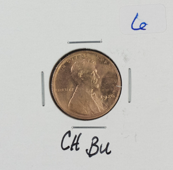 1926 - LINCOLN WHEAT CENT - BU