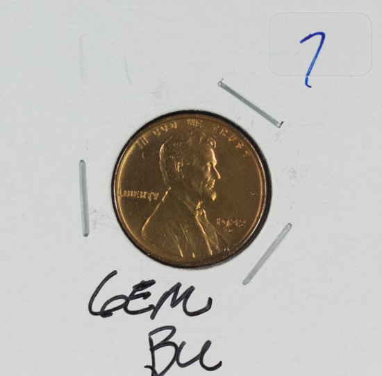 1932-D LINCOLN WHEAT CENT - GEM BU