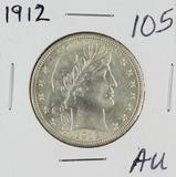 1912 - BARBER HALF DOLLAR - AU