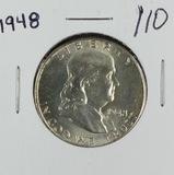 1948 - FRANKLIN HALF DOLLAR - GEM BU