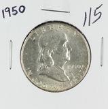 1950 - FRANKLIN HALF DOLLAR - UNC