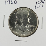 1960 - FRANKLIN HALF DOLLAR - GEM