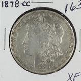 1878-CC MORGAN DOLLAR - XF