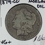 1879-CC MORGAN DOLLAR - VG