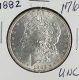 1882 - MORGAN DOLLAR - UNC