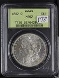 1882-O PCGS MS62 MORGAN DOLLAR
