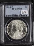 1883-CC PCGS MS64 MORGAN DOLLAR