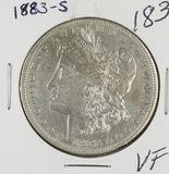 1883-S MORGAN DOLLAR - VF