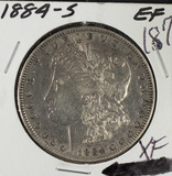1884-S MORGAN DOLLAR