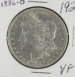 1886-O MORGAN DOLLAR - VF