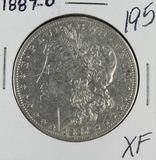 1887-O MORGAN DOLLAR - XF